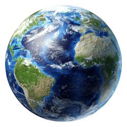 A Terra é datada de 4,6 a 5,0 bilhões de anos