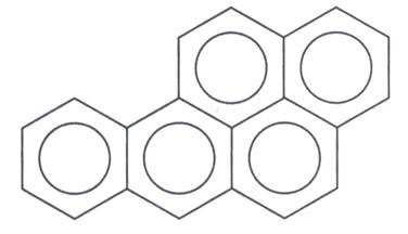 Fórmula do Benzopireno
