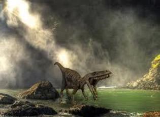 Existem várias teorias para a extinção dos dinossauros