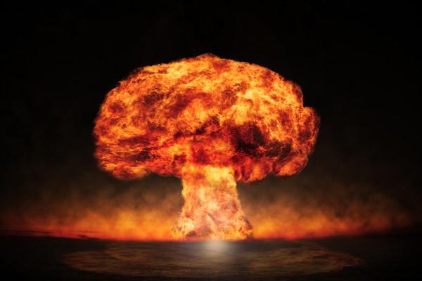 As bombas atômicas possuem alto poder de destruição.
