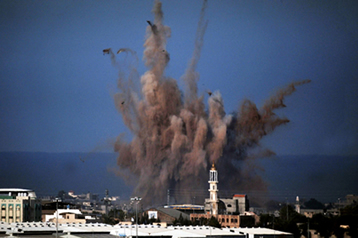 Bombardeio na Faixa de Gaza, 2009.*