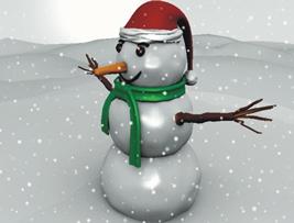 Boneco de Neve, presença garantida na árvore de Natal