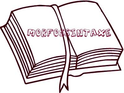 A morfossintaxe resulta das análises morfológica e sintática, realizadas simultaneamente