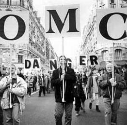 Manifestação contra a OMC