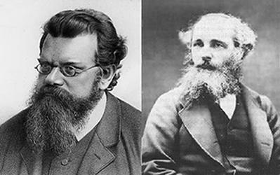 Os físicos Boltzmann e Maxwell foram os principais responsáveis pela teoria cinética dos gases