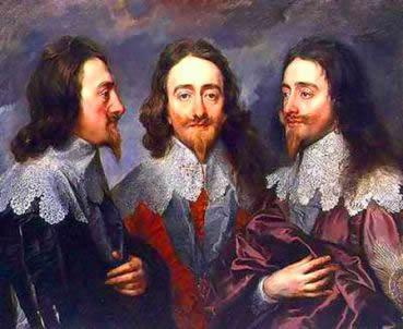 O governo de Carlos I, o início das tensões que conduziram à Revolução Inglesa.
