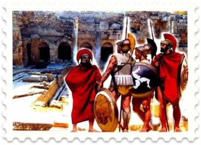 Em 338 a. C., os gregos foram conquistados pelos macedônios