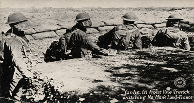 A Batalha do Marne marcou o início da guerra de trincheiras na I Guerra Mundial.*