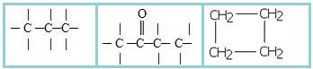Exemplos de cadeias carbônicas homogêneas