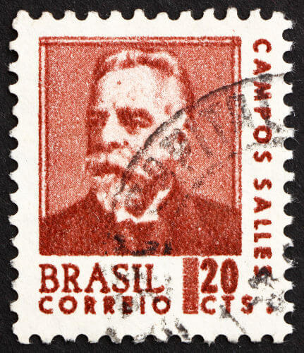 Campos Sales, presidente brasileiro entre 1898 e 1902 e o arquiteto da política dos governadores.*