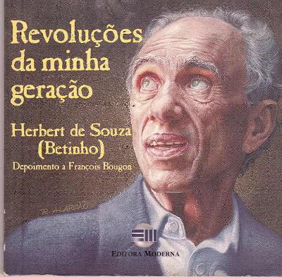 Capa do livro Revoluções da minha geração – Herbert de Souza. Ed Moderna