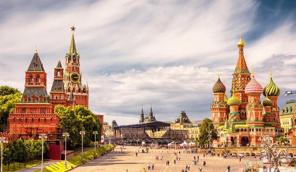 Capital Moscou é famosa pelo Kremlin e a Praça Vermelha