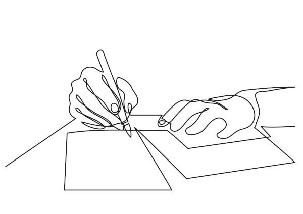 Escrevemos uma carta pessoal quando queremos nos comunicar com alguém próximo de nós, como amigos ou familiares.