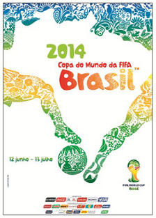 Cartaz da Copa do Mundo de 2014