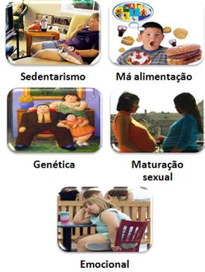 Principais causas da obesidade