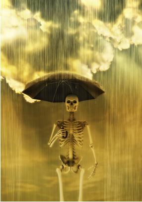 A chuva ácida é consequência da poluição com óxidos ácidos