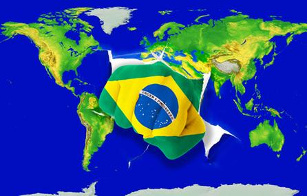O Brasil tem buscado tornar-se um líder regional e tomar posições que muitas vezes são contrárias aos interesses das grandes potências.