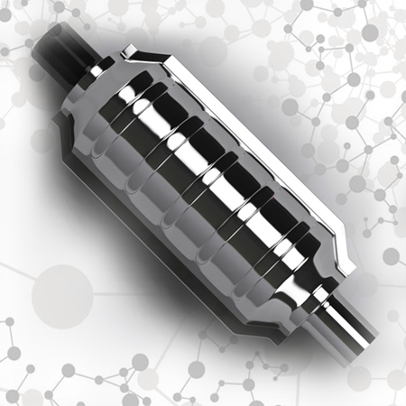 O catalisador automotivo ou conversor catalítico é um exemplo do cotidiano de catálise heterogênea