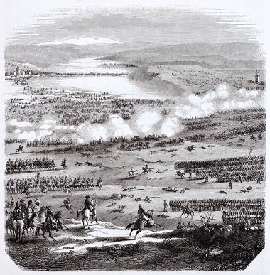 A Batalha de Austerlitz marcou o triunfo militar de Napoleão Bonaparte