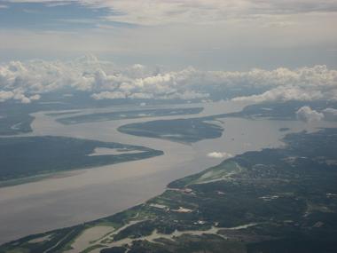 A Amazônia contribui com os índices de chuva graças à sua emissão de umidade