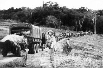 A Guerra Colonial Portuguesa colocou as Forças Armadas Portuguesas contra grupos armados da Angola, da Guiné e de Moçambique