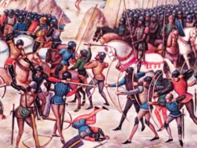Azincourt: o conflito em que os ingleses surpreenderam a França.