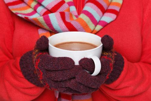 Chocolate quente pode esconder uma grande quantidade de calorias
