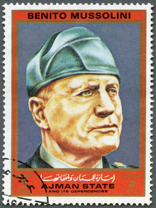 Com a Marcha sobre Roma, Benito Mussolini foi nomeado primeiro-ministro da Itália.*