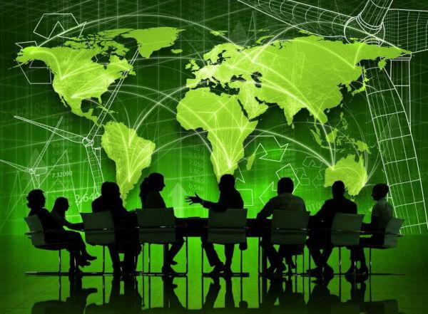 Conferências ambientais reúnem representantes de vários países para discutir questões sobre o meio ambiente.