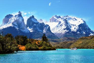 Cordilheira dos Andes, um exemplo de dobramento moderno