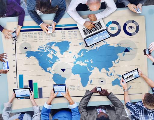 Créditos de carbono são comercializados entre diversos países desenvolvidos e em desenvolvimento.