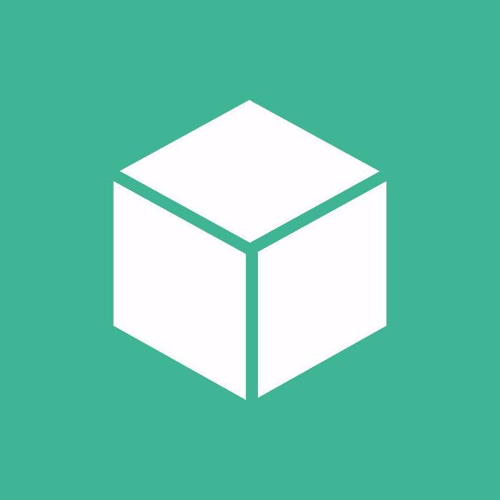 Cubo: sólido geométrico formado por seis quadrados