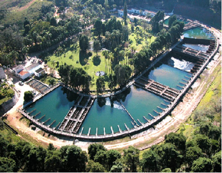 Imagem de estação de tratamento de água