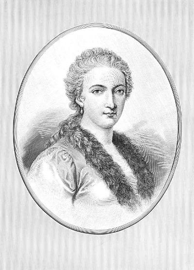 """Maria Gaetana Agnesi, nascida em 16 de maio de 1718, foi a primeira mulher a ser chamada de """"matemática"""""""