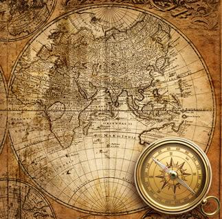 Os mapas e as bússolas também foram uma importante contribuição da civilização islâmica, possibilitando aos portugueses chegarem ao Brasil