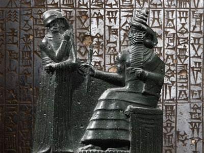 Hamurabi, o rei sumério responsável por um dos mais importantes códigos jurídicos da antigüidade