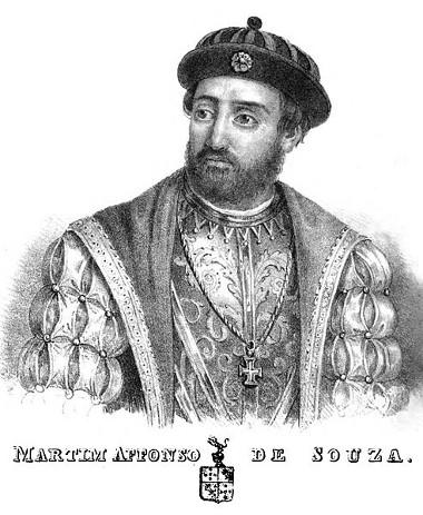 Martim Afonso de Souza, capitão que organizou a colonização do Brasil, teve sua viagem relatada por seu irmão