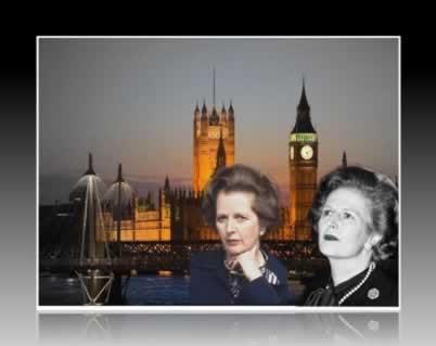 """A """"Dama de Ferro"""" governou a Grã-Bretanha por 11 anos (1979-1990)"""