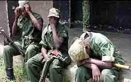 Soldados da República do Congo