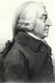 Para Adam Smith era necessário o desenvolvimento do livre comércio