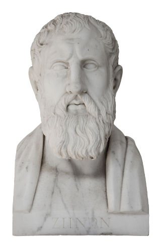 Zenão de Eleia elaborou quatro argumentos contra o movimento