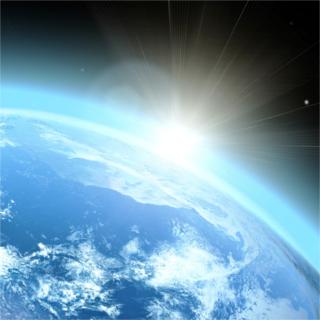 A camada de ozônio absorve a radiação ultravioleta (UV) do Sol