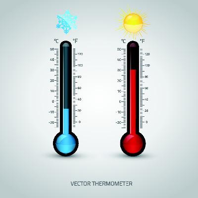 Os termômetros são instrumentos utilizados para medir a temperatura