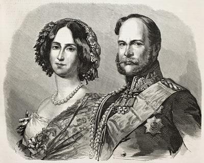 Guilherme I tornou-se Imperador da Alemanha após a vitória na Guerra Franco-Prussiana