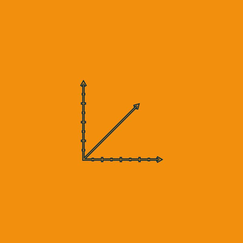 Decompor o vetor significa encontrar seus componentes escritos sobre os eixos x e y do plano cartesiano