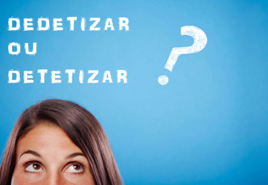 Dedetizar ou detetizar? Acerte as contas com os insetos e com a língua portuguesa!