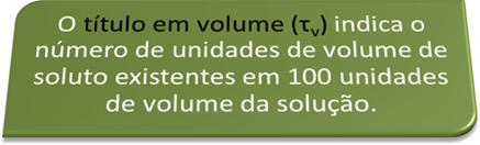 Definição conceitual de título em volume