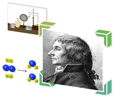 Depois de cuidadosas investigações, Joseph Louis Proust (1754-1826) enunciou a Lei das Proporções Constantes