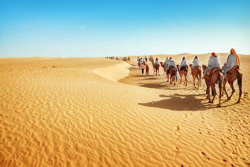 Deserto do Saara na Tunísia, o maior deserto do mundo