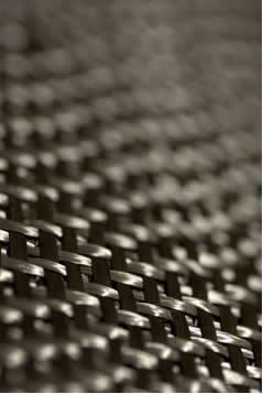 Detalhe de fibra de carbono